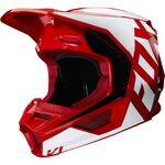 _Casque Fox V1 Prix Flame Rouge | 25471-122 | Greenland MX_