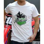 _T-shirt GMX Dirt Passion Blanc | PU-TGMXDPWT | Greenland MX_