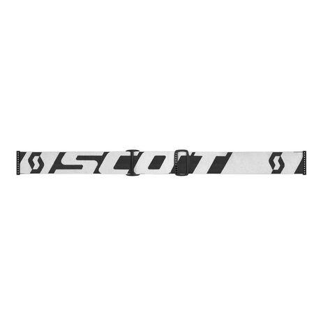 _Lunnettes Scott Hustle MX X Blanc/Noir | 2681831035113 | Greenland MX_