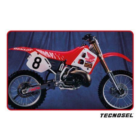 _Kit Autocollants Tecnosel Replica Team Honda 1991 USA CR 125 91-92 CR 250 90-91 | 21V01 | Greenland MX_