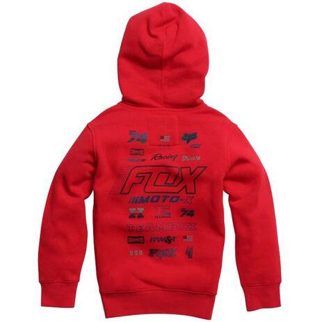_Sweatshirt Enfant Fox Edify Rouge | 20996-208-YP | Greenland MX_