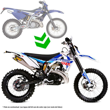 _Kit modification pour passage gas gas 2001-2006 a 2011 suomy | BE90100S2511SUO | Greenland MX_