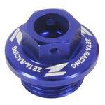 _Bouchon de remplissage huile Honda Yamaha Bleu | ZE89-2112 | Greenland MX_