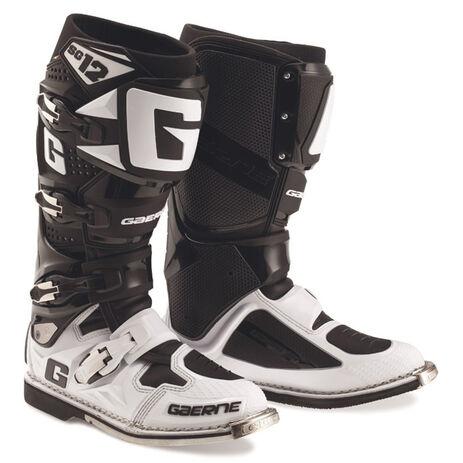 _Bottes Gaerne SG12 Limited Edition Blanc/Noir | 2174-014 | Greenland MX_