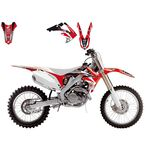 _Kit Deco Blackbird Dream 4 Honda CRF 250 04-09 | 2135N | Greenland MX_
