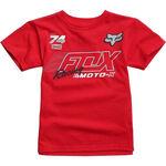 _T-Shirt Enfant Fox Flection Rouge   21226-208-KP   Greenland MX_