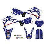 _Kit Deco + Housse de Selle Tecnosel Replica Team Yamaha 1998 YZ 125/250 96-01   82V02   Greenland MX_