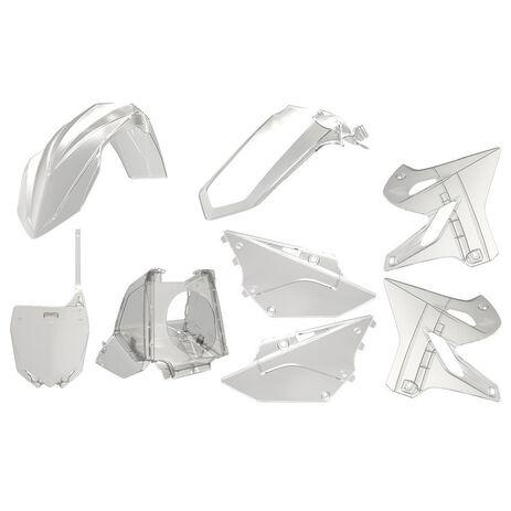 _Kit Plastiques Polisport Mx Restyling YZ 125/250 02-18 Transparent | 90773 | Greenland MX_