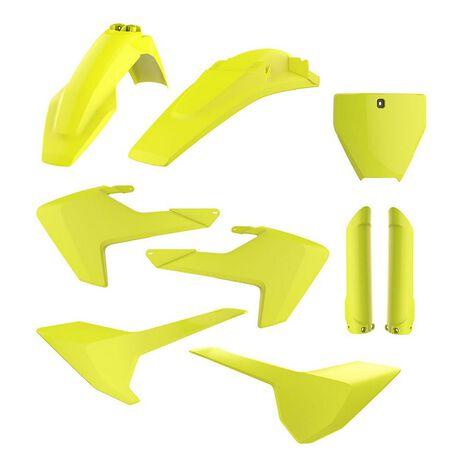 _Full Kit Plastiques Polisport Husqvarna TC/FC 16-18 Fluor Jaune | 90741-P | Greenland MX_