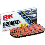 _Chaîne RK 520 MXZ4 Super Renforcee 120 Maillons Orange | TC-RKMXZ4OR | Greenland MX_