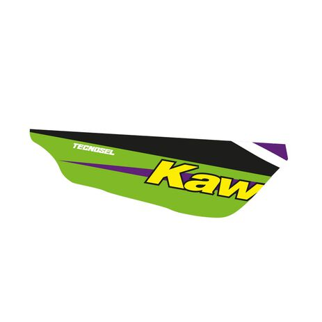 _ Housse de Selle Tecnosel Replica Team Kawasaki 1998 KX 125/250 94-98 | 14V02 | Greenland MX_