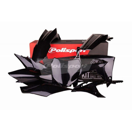_Kit Plastiques Polisport Honda CRF 250 R 14-17 CRF 450 R 13-16 Noir | 90562 | Greenland MX_