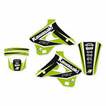 _Kit Autocollants Blackbird Dream 4 Kawasaki KX 125/250 94-98 | 2410N | Greenland MX_