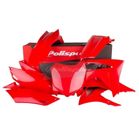 _Kit Plastiques Polisport Honda CRF 250 R 14-17 CRF 450 R 13-16 Rosso | 90628 | Greenland MX_