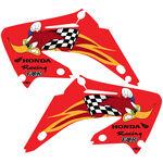 _Kit deco TJ Honda CR 125/250 R 02-07 Woody Team USA | KCR25007W | Greenland MX_