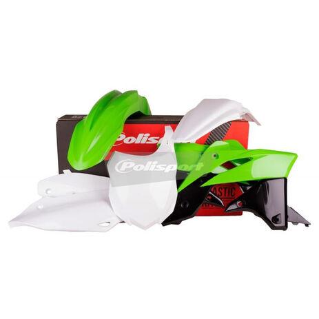 _Kit Plastiques Polisport Kawasaki KX 250 F 13-15 OEM 14/15 | 90625 | Greenland MX_
