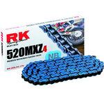 _Chaîne  rk mxz4 super renforcee120 maillons bleu | TC-RKMXZ4BL | Greenland MX_