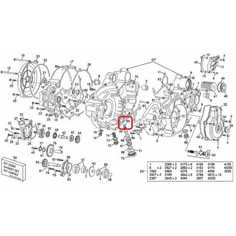 _Vilebrequin Hot Rods Yamaha YZ 250 01-02 | 4038 | Greenland MX_