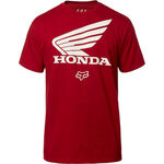 _T-Shirt Fox Honda SS | 23144-465-P | Greenland MX_