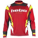 _Maillot Hebo Trial Race Pro III | HE2174R-P | Greenland MX_
