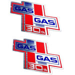 _Adhésifs deux GAS GAS 30e anniversaire | PU00642014 | Greenland MX_