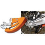 _Protection indestructible disque frein ar TMD KTM 04-18 Husqvarna 14-18 Axe 25 mm Noir | RDP-K13-BK | Greenland MX_