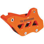 _Guide chaine indestructible TMD FE2 KTM EXC 08-.. SX 07-15 Husqvarna 14-.. Sherco 10-.. orange | RCG-KT3-OR | Greenland MX_
