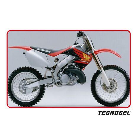 _Kit Autocollants Tecnosel Replica OEM Honda 1998 CR 125 98-99 CR 250 97-99 | 21V04 | Greenland MX_