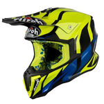_Casque Airoh Twist Great Jaune | TWGR17 | Greenland MX_