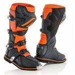 _Bottes Acerbis X-Pro V Noir/Orange | 0021596.313.00P | Greenland MX_