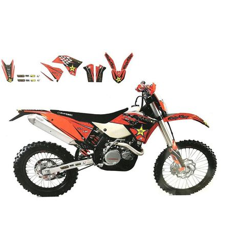 _Kit Déco Blackbird KTM EXC 05-07 SX/SX-F 05-06 | 2526L | Greenland MX_