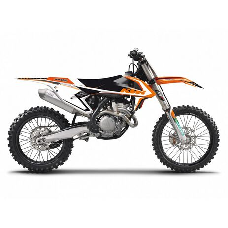 _Kit Complet Deco Blackbird Dream 4 KTM SX/SXF 16-18  EXC 17-19 | 8541N | Greenland MX_