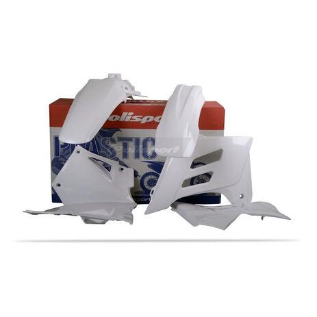 _Kit Plastiques Polisport Gas Gas EC 01-06 Blanc | 90238 | Greenland MX_