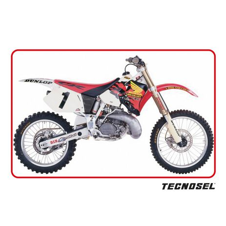 _Housse De Selle Tecnosel Replica Team Honda 1995 USA CR 125 93-97 CR 250 92-96   11V02   Greenland MX_