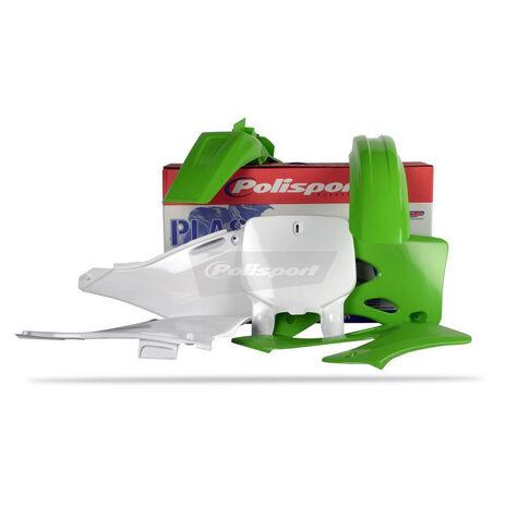 _Kit Plastiques Polisport Kawasaki KX 125/250 99-02 | 90089 | Greenland MX_