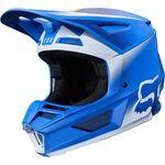 _Casque Fox V2 Vlar Bleu | 24264-002 | Greenland MX_