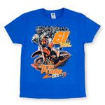 _T-shirt Jorge Prado Action Bleu   JP61-200BL   Greenland MX_