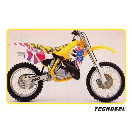 _Kit Autocollants Tecnosel Replica OEM Suzuki 1992 RM 125/250 89-92   23V00   Greenland MX_