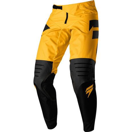 _Pantalon Shift 3Lack Label Strike Jaune | 19312-005-P | Greenland MX_