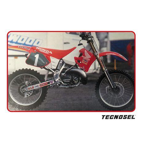 _Kit Autocollants Tecnosel Replica Team Honda 1992 CR 125 93-94 CR 250 92-94   21V02   Greenland MX_