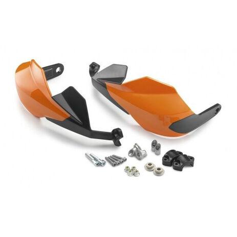 _Kit Protege-Mains KTM Duke 125/250 11-16 200/390 11-17 Orange   9010297934404   Greenland MX_