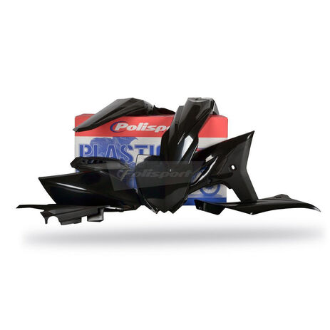 _Kit plastiques Polisport Yamaha YZ 250 F 10-13 Noir | 90260 | Greenland MX_