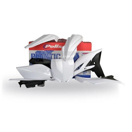 _Kit Plastiques Polisport YZ 250 F 10-13  Blanc | 90259 | Greenland MX_