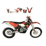 _Kit deco Blackbird Replica KTM EXC 14-16 SX/SX-F 13-15 | 2538L | Greenland MX_