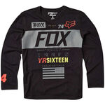 _T-shirt Enfant Fox Exploder LS 2016 Noir | 16353-001-Y | Greenland MX_