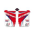 _Kit Deco Grilles de Radiateu Blackbird Replica HRC Honda CRF 250 R 14-17 | A105R17 | Greenland MX_