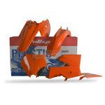 _Kit Plastiques Polisport KTM SX 85 06-12 Orange | 90131 | Greenland MX_