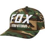 _Casquette Fox Triple Threat Flexfit Camo | 23022-031 | Greenland MX_