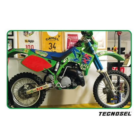 _ Housse de Selle Tecnosel Replica Team Kawasaki 1993 KX 125/250 92-93 | 14V00 | Greenland MX_