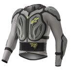 _Gilet de Protection Intégrale Alpinestars Bionic Action Gris/Jaune Fluo   6506818-9355   Greenland MX_